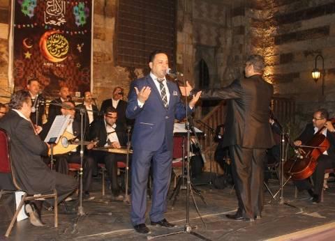 """رئيس """"التنمية الثقافية"""" يشهد حفل """"الأوبرا للإنشاد الديني"""" بقبة الغوري"""