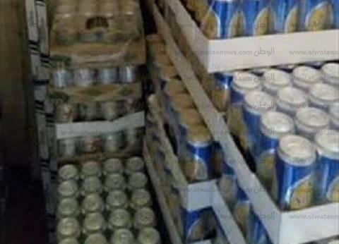 """""""أمن الفيوم"""" يضبط 8880 زجاجة خمور بمخزن غير مرخص بطريق أسيوط الغربي"""