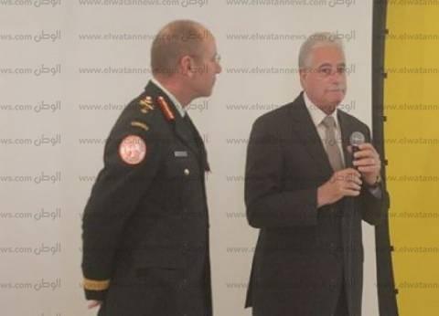 بالصور| محافظ جنوب سيناء يشهد تسليم قيادة القوات متعددة الجنسيات بشرم الشيخ