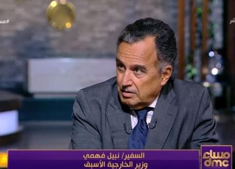 بالفيديو| وزير الخارجية السابق: مصر أكثر دولة مستقرة في الشرق الأوسط