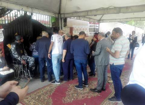 استمرار توافد المصوتين على لجان النزهة في آخر أيام الاستفتاء
