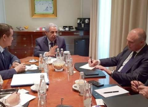 وزير التجارة يلتقي وفد إحدى أكبر سلاسل التجزئة العالمية