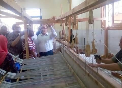 بالصور  محافظ بني سويف: النهوض بالصناعات اليدوية يدفع عجلة الاقتصاد ويوفر فرص عمل