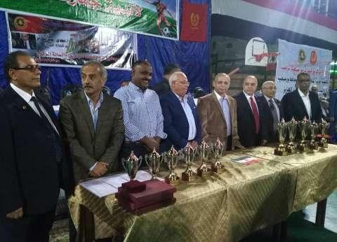 بالصور  ختام الدورة الرياضية المجمعة الرابعة لأندية الجمارك ببورسعيد