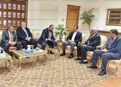 محافظ أسيوط يستقبل وفد الهيئة العربية للتصنيع