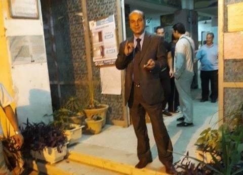 """رئيس """"السكة الحديد للخدمات"""" يدلي بصوته في الانتخابات الرئاسية"""