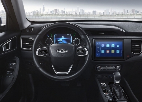 Chery الصينية تطرح سيارة Tiggo 4 الجديدة بواجهة قيادة متطورة