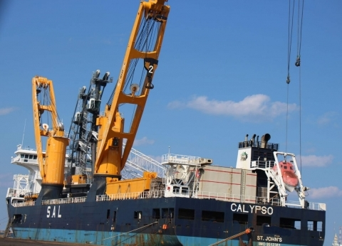142 ألف طن قمح رصيد صومعة الحبوب والغلال بميناء دمياط