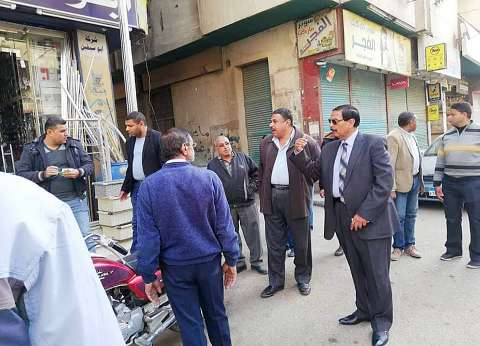 تحرير 80 محضر إشغال طريق وإزالة 58 إعلان بدون ترخيص في سوهاج