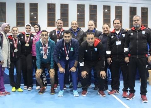 جامعة الإسكندرية تفوز بالمركز الأول في أسبوع شباب الجامعات بكفر الشيخ