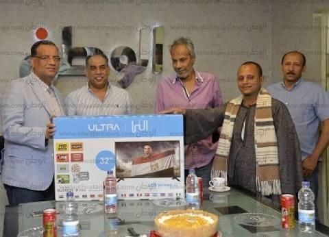 «الوطن» تسلّم جوائز فوازير «جسم الإنسان» لأول 5 فائزين بشاشات LED من شركة «بى تك»