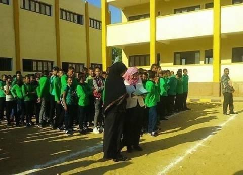 كلمة بطابور الصباح في مدارس الوادي الجديد عن دور القوات المسلحة