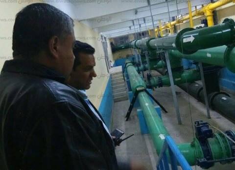حملة لإزالة التعديات على الترعة المغذية لمحطات مياه شرب فى الإسكندرية