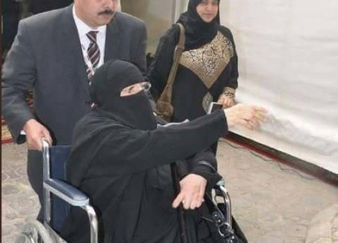 صور| كبار السن يحرصون على الإدلاء بأصواتهم في انتخابات الرئاسة بالخارج