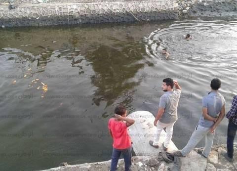 مصرع طالب غرقا في ترعة بحر شبين الكوم بالمنوفية