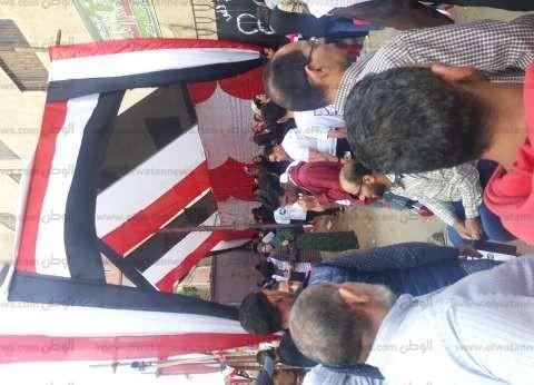 طوابير أمام لجان المرج قبل بدء التصويت على تعديل الدستور