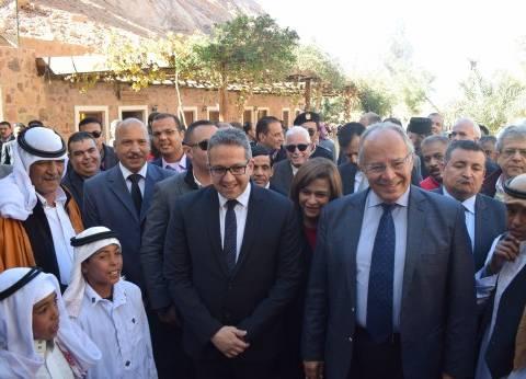 مستشار دير سانت كاترين لشؤون القبائل: فخورون بافتتاح المكتبة التاريخية