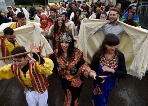 بالصور  الجزائر تحتفل لأول مرة برأس السنة الأمازيغية بعد إقرارها رسميا