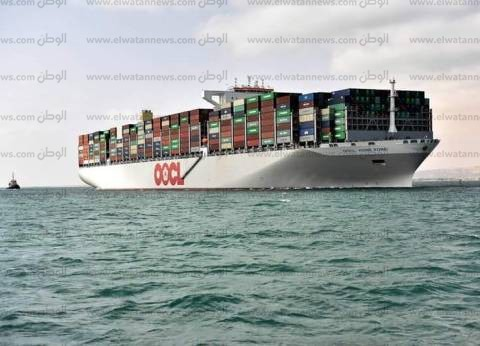 28 سفينة إجمالى الحركة بموانئ بورسعيد