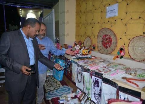 مطروح تنظم المعرض الثاني لبيع منتجات الشباب البيئية واليدوية والمرأة