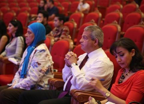 """وزير الشباب يشهد البروفة النهائية لـ""""القاهرة عاصمة الشباب العربي"""""""