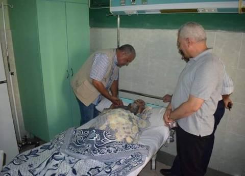 محافظ البحر الأحمر يأمر بنقل شيخ الصيادين إلى المتشفى العام بالغردقة