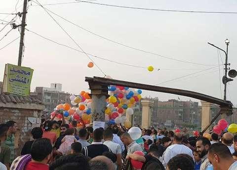 زحام بالكورنيش وإقبال على حدائق القناطر.. رئيس المدينة: لم نتلق شكاوى