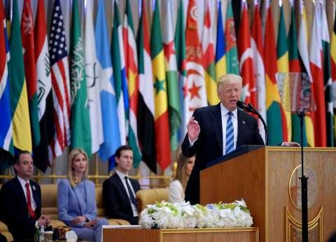 عاجل| ترامب: هذه القمة بداية النهاية لكل من يمارس الإرهاب