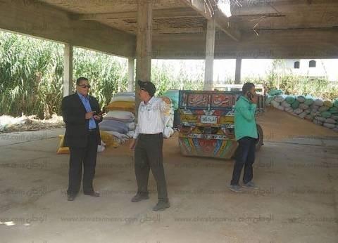 بالصور| رئيس مدينة سمنود يتفقد شون توريد القمح.. ويشدد على راحة المزارعين
