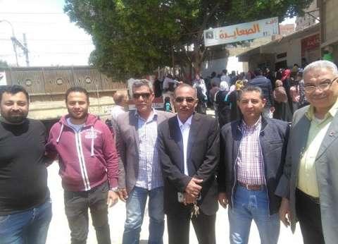 """أعضاء """"حماة وطن"""" يحثون المواطنين على المشاركة في الاستفتاء بالمعادي"""