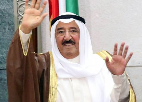 """""""أمير الكويت"""" يستنكر الأعمال الإجرامية التي تهدف إلى زعزعة الاستقرار في مصر"""