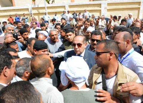 محافظ سوهاج يتفقد سير الانتخابات باللجان في آخر أيام التصويت