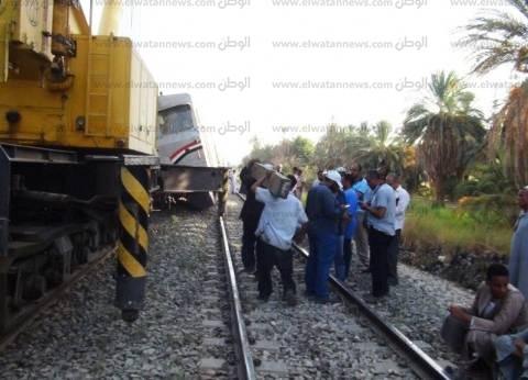 بالأسماء| ضحايا حادث تصادم قطار بسيارة نقل في مطروح
