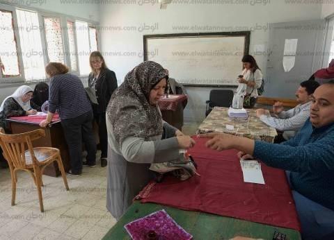 بالصور| تزايد إقبال الناخبين على اللجان كفر الشيخ