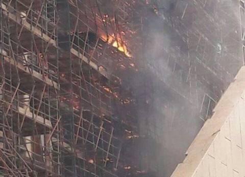 بث مباشر| عمليات إطفاء الحريق بالمتحف الكبير