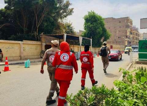 الهلال الأحمر بالأقصر يشارك في الانتخابات الرئاسية بفرقتين