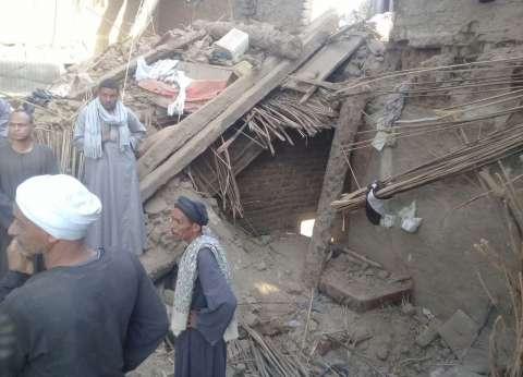 قتيلتان ومصابتان في انهيار منزل في الأقصر