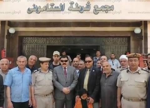 مدير أمن الدقهلية يتفقد مركز شرطة الستاموني الجديد قبل افتتاحه