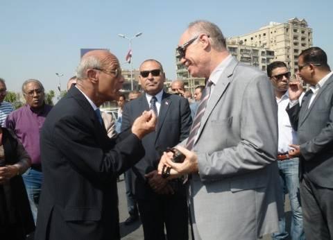 القائم بأعمال محافظ القاهرة: تطوير ميادين العاصمة لتحقيق السيولة المرورية