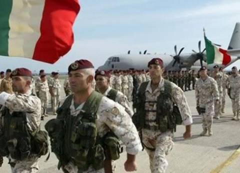 إيطاليا تنفي إنشاء قاعدة عسكرية في ليبيا