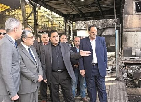 بالصور| 24 ساعة لمحمد شاكر وزيرا للنقل.. جولة ومتابعة وتوجيهات