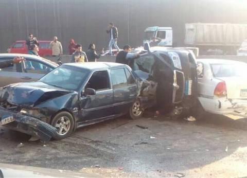 إصابة طفلين في حادث مروري أمام مدينة العلمين الجديدة