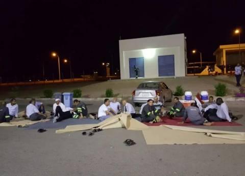 مصدر بمطار مرسى علم: إضراب العاملين لم يؤثر على الحركة الجوية
