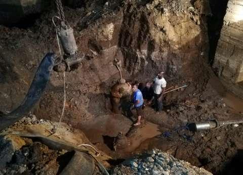 محافظ القليوبية يعتذر لأهالي شبرا عن انقطاع المياه 48 ساعة