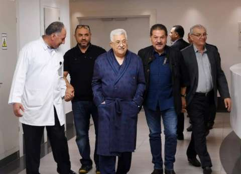 """الصفحة الرسمية لـ""""أبو مازن"""" تنشر فيديو له من داخل المستشفى"""