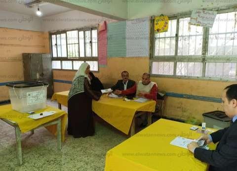 توافد السيدات على لجان الصف وأطفيح للتصويت في الاستفتاء