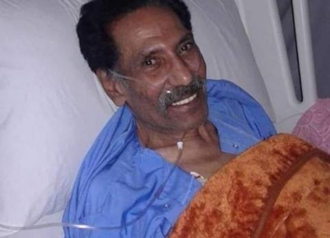 الفنان محمد أبو الوفا في العناية المركزة بسبب وعكة صحية