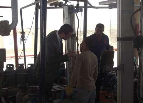 بالصور| الرقابة الإدارية ترصد غياب الأمن الصناعي في مستودع أنابيب البوتاجاز بالفيوم