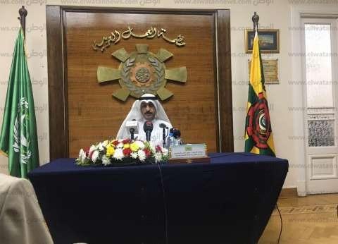 """""""المطيري"""": مؤتمر """"العمل العربي"""" يربط بين واقع القوى العاملة والأسواق"""