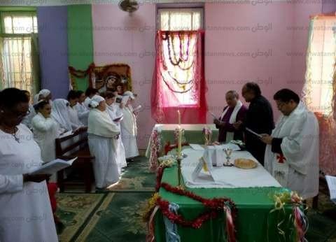 رئيس الكنيسة الأسقفية يزور سجن القناطر للاحتفال بأعياد الميلاد